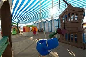 Spiaggia 54 Riccione - area giochi per bambini animazione e miniclub