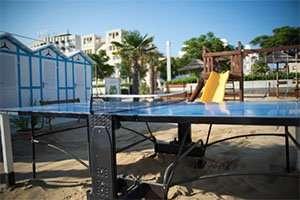 Spiaggia 54 Riccione - il ping pong