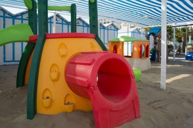 Area giochi miniclub e animazione per bambini
