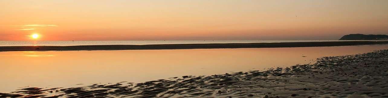 Spiaggia 54 Riccione - l'alba
