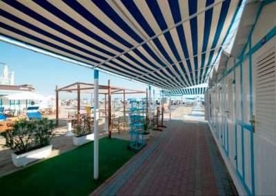spiaggia 54 riccione ingresso