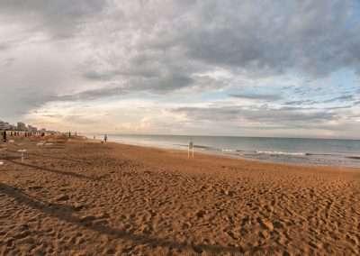 Spiaggia 54 Riccione - Panorama della spiaggia 54.