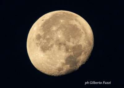 Spiaggia 54 Riccione - La luna vista dalla spiaggia