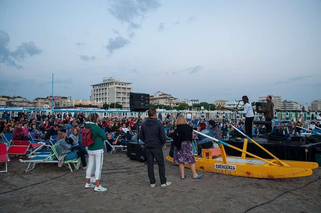 Il pubblico del concerto