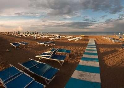 Spiaggia 54 Riccione - Panoramica