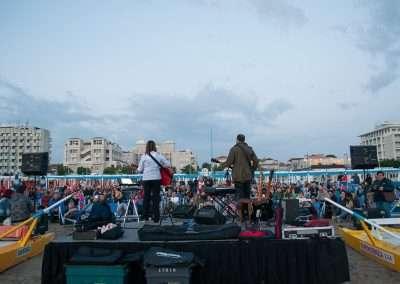 Spiaggia 54 Riccione - Retro del palco