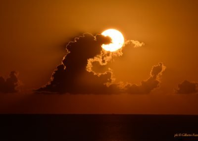alba in spiaggia a riccione