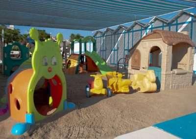 giochi e animazione con miniclub in spiaggia