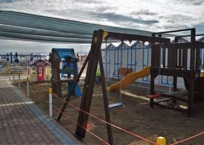 parco giochi spiaggia 54 Riccione