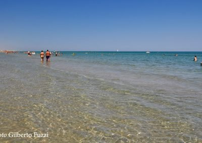 battigia e spiaggia di riccione